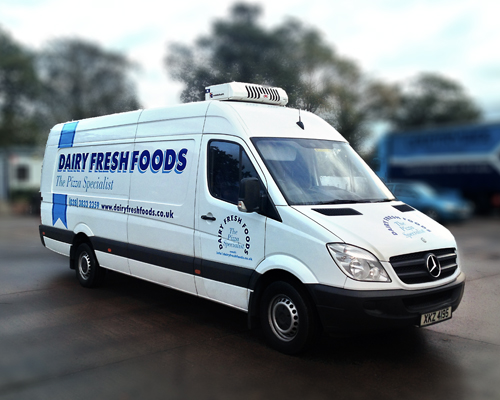 Vehicle graphics by AP Signs, Portadown