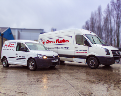 Vehicle graphics by AP Signs