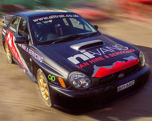 Racing Car Vehicle Wrap